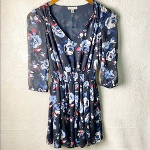 COPE by Urban Outfitters floral dress